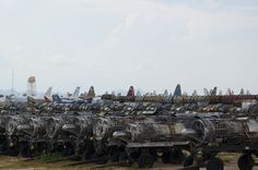 Where airplanes go to die // Boing Boing