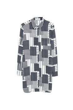 Venda Mango / 27459 / Mango Women / Tops estampados de mangas compridas / Camisa…