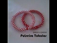 NM Bijoux - Pulseira Tubular - passo a passo