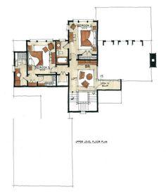 2407 sq ft - second floor - Little Bear Upper Floor - Natural Element Homes