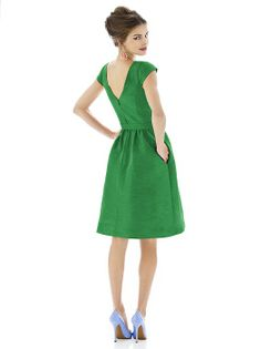 Alfred Sung Style D568 http://www.dessy.com/dresses/bridesmaid/D568/?color=pistachio&colorid=396#.UlmS-yi8pSU