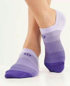 ... You have to have purple socks ...