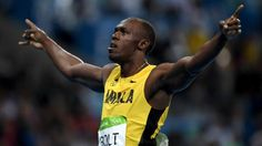 Usain Bolt continues to impress sports world with latest gold-medal win -   .
