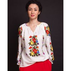 Ie Floare de trandafir Floral Tops, Embroidery, Long Sleeve, Sleeves, Forever 21, Traditional, Women, Art, Fashion