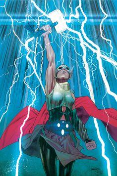 Thunderous THOR Variant Cover Art by James Harren — GeekTyrant