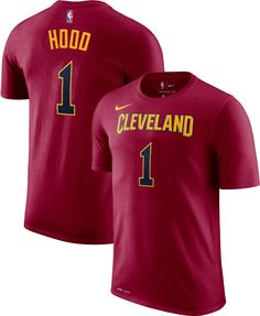 e82087c90 Nike Youth Cleveland Cavaliers Rodney Hood  1 Dri-FIT Burgundy T-Shirt