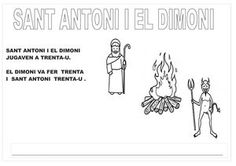 SANT ANTONI I EL DIMONI INFANTIL 1, Comics, Memes, Books, Christmas, School, Musica, Reading Comprehension, Celebrations
