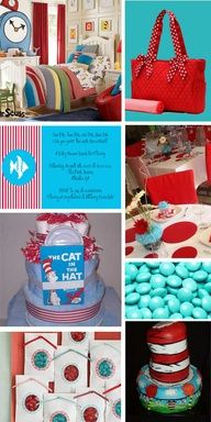 Dr. Suess baby shower ideas | Bring a Book – A Very Cool Baby Shower Idea | allaboutbabies.org