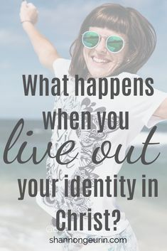 Stop living in doubt and start living out your identity in Christ. Find resources, quotes, bible study, and encouragement. Christian Women, Christian Living, Christian Faith, Take Every Thought Captive, Dear Sister, Identity In Christ, Love Your Family, Math Books, Spiritual Growth