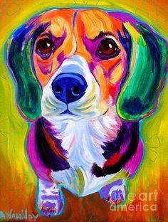 beagle painting!