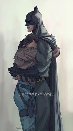 Batfam Has Batfun — I wanted something good 💦 Batman Comic Art, Im Batman, Batman Robin, Jason Batman, Gotham Batman, Superhero Family, Bat Family, Nightwing, Batgirl