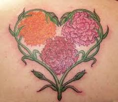 carnation tattoo - Google Search