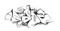 Graffiti Sketch on Behance