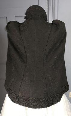 Bustle Dress, Cloaks, Mantles, Autumnal, Winter Wear, Capes, Beautiful Dresses, Victorian, One Piece