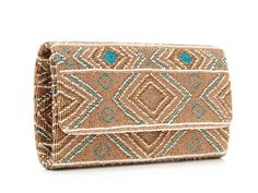 Santi Beaded Clutch from Veronica Webb