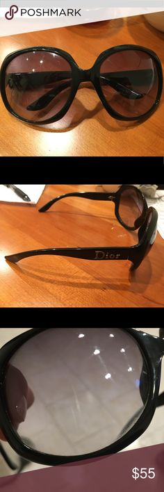 dbaa91b87fd3 Arms need tightened one small scratch on each lens Christian Dior  Accessories Glasses