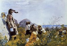My most favorite Winslow Homer paintint: The Berry Pickers