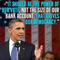 Truth be told...  Got to get big money out of lobbying and out of the pockets of politicians and their election coffers.