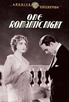 One Romantic Night [DVD] [English] [1930]