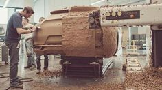 clay model shaped by hand and machine - real design! Automobile, Clay Design, Automotive Design, Automotive Industry, Bike Design, Transportation Design, Design Process, Motor Car, Design Model