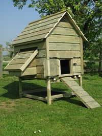 Chicken Houses, Duck Houses, Hen houses, Goose houses, Poultry Arks, Bird houses, Dovecotes - Chicken Houses & Runs :: Barnvelder coop - up to 10 chickens