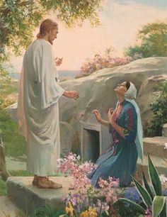 "Easter is a celebration of the resurrection of Jesus Christ, and His victory over the grave. Thus, the ""sting of death is swallowed up in Christ. Images Du Christ, Pictures Of Christ, Bible Pictures, Image Jesus, Harry Anderson, Marie Madeleine, Jesus Christus, Christian Friends, Jesus Resurrection"