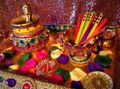 Traditional Punjabi Wedding with Matki of Mehndi