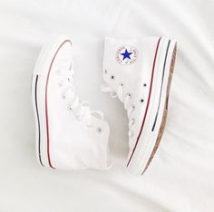 White converse high tops I have the low, but I need the high tops!