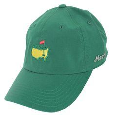 Green Masters Caddy Performance tech hat Hat World 0e09dd840afe
