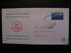 Special flight Philips...Special Jubilee Flight - Philips Friendship PH-Lip,1966