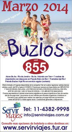 BUZIOS DE REGALO!!!