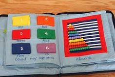 Image result for how to make quiet book