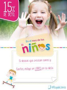 Diseño para libreriadelau.com campaña mes de los niños