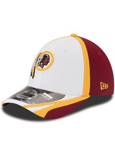 772aca3a2ac Redskins New Era 39thirty Training Hat
