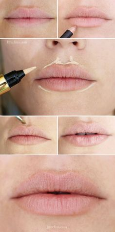 Try these tips on how to have fuller lips.