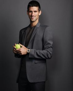 Audemars Piguet and Novak Djokovic together, looks like a great match to us! http://mywat.ch/14