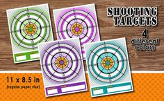 SHOOTING TARGET – Digital file, Nerf Party, Army boys, Army girls, Shooting party - Instant Download-