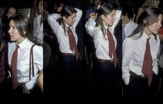 Carrie Fisher looking cute and cool in a button-down shirt and a tie in NYC, 1979 - OldSchoolCool Button Downs, Button Down Shirt, Rude Boy, Beatnik, Carrie Fisher, 25 Years Old, Attractive People, Photo Essay, Cool Kids