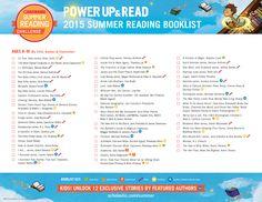 2015 Summer Reading Challenge Booklist - Ages 8-10. #summerreading