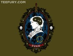 A Watchful Mind T-Shirt: Sherlock T-Shirt at TeeFury today only! $11