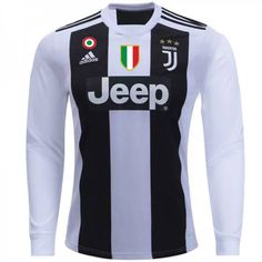6ac006d0df2 Cheap Juventus Home Football Shirt 18 19 Long Sleeves