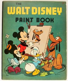 The Walt Disney Paint Book Deja View: Disney Mix