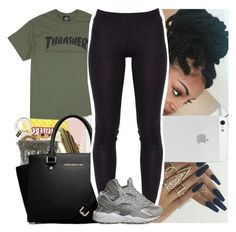 """Untitled #544"" by msixo ❤ liked on Polyvore featuring Poetic Justice and NIKE"
