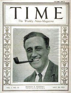 Franklin Roosevelt, 1923