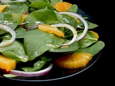 Spinach And Orange Salad Recipe - Food.com