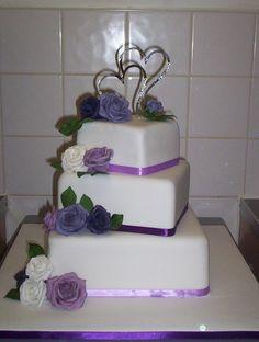 Small 3 Tier Wedding Cakes