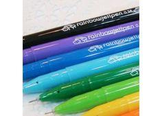 Pretty Rainbow Jell Pen - Pencils + Pens - Cute Stationery