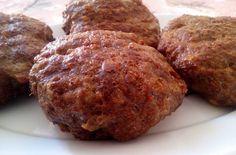 Συνταγές για διαβητικούς και δίαιτα: ΜΠΙΦΤΕΚΙΑ ΑΦΡΑΤΑ ( χωρίς ψωμί,χωρίς βρώμη)