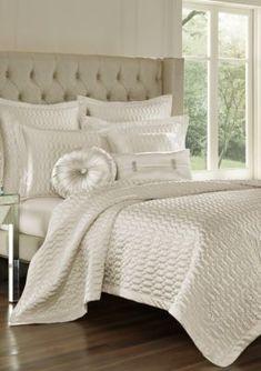 J Queen New York Satinique Coverlet - Spa - King Bedding Master Bedroom, Queen Comforter Sets, King Comforter, Green Comforter, Coverlet Bedding, Luxury Bedspreads, Luxury Bedding, Teal Quilt, Queens New York