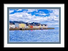 Irish Framed Print featuring Galway On The Water by Mark E Tisdale